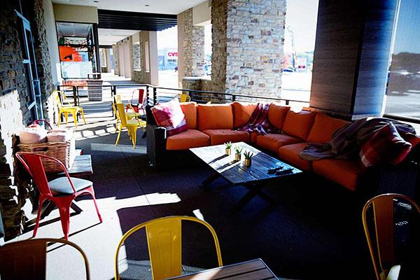 Cactus Modern Mexican & Cantina   Lincoln, NE    patio seating